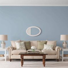Glidden High Endurance Paint, Soft Traditional Blue #70BG 41/076 Flat 1 Gallon (Base UPC 0113118440267) Color Soft Traditional Blue