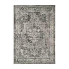 Teppich Chloe - Vintagelook Stein