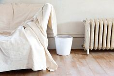 One of the easiest—and most underutilized—interior design strategies? Drape your furniture in simple cotton canvas painter's drop cloths.