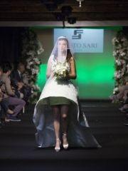 Sfilata di abiti da sposa in Villa dell'Atelier Fausto Sari con Enzo Miccio