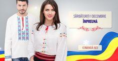 Pregateste-te de sarbatoare!!  #1Decembrie #RomanianLabel #RomanianBlouse My Love, Coat, Jackets, Fashion, Down Jackets, Sewing Coat, Moda, La Mode, Coats
