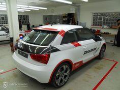 Folierung eines Audi A1 - Urquattro Design