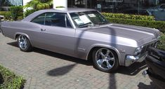 Example of Evening Orchid paint on a 1965 GM Chevrolet Impala Special Order 66 Impala, Chevy Impala Ss, Chevrolet Impala 1965, Chevrolet Chevelle, New Paint Colors, Car Colors, Amazing Cars, Drag Racing, Hot Cars