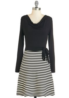 080e71494da Spin the Zone Dress. With just a twirl in this black twofer dress
