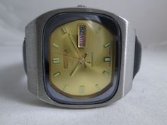 100% AUTHENTIC VINTAGE SEIKO AUTOMATIC 21J FOR MENS WEARING JAPAN MADE WATCH  #SEIKO #CartoonIdolcasualdress Favre Leuba, Seiko Automatic, Vintage Watches, The 100, Menswear, Japan, How To Wear, Ebay, Okinawa Japan