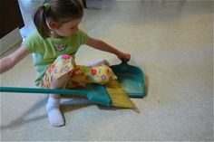 10 Chores for Preschoolers and up