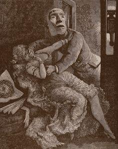 Max Ernst, Une semaine de bonté (A week of kindness), 1934.