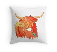 Highland cow watercolour merch  by @kirstiecatlady  #scotland #watercolour #highlandcow