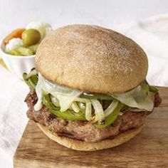 Turkey Sausage & Peppers Burger Recipe - ZipList