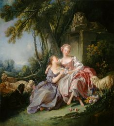 The Athenaeum - The Love Letter (François Boucher - ) Owner/Location: National Gallery of Art - Washington DC (United States - Washington) Dates: 1750 Artist age: Approximately 47 years old. Dimensions: Height: 81.2 cm (31.97 in.), Width: 75.2 cm (29.61 in.) Medium: Painting - oil on canvas