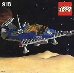 918-1: One Man Space Ship | Brickset: LEGO set guide and database