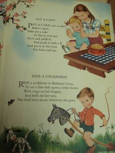 I loved nursery rhymes. It is such a happy part of my earlier childhood. :)