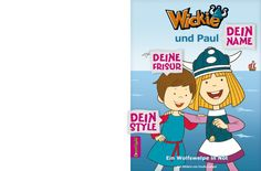 """""""Wickie und ich"""" - dein Abenteuer. Ein personalisierbares #Kinderbuch von framily. #Wickie #Wikingerbuch #Abenteuer #framily"""