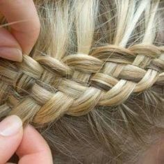 dutch braid - katniss braid