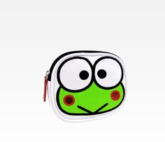 A cute little Keroppi Coin Bag. I had one just like this when I was in school.  #PaperMateBTS