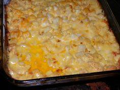 Cheesy potato