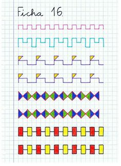 Graph Paper Drawings, Graph Paper Art, Improve Your Handwriting, Handwriting Practice, Boarder Designs, Early Finishers Activities, Fine Motor Activities For Kids, Montessori Materials, Letter Art