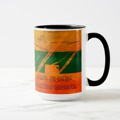 Proud to Be an Operating Engineer COLORFUL MUG - home gifts ideas decor special unique custom individual customized individualized