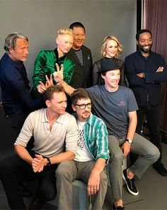 EW: That moment when Tom Hiddleston photobombs the Doctor Strange cast and Benedict Cumberbatch gives him bunny ears. Source: https://www.instagram.com/p/BIQECdRhpSa/ Ful size image: http://ww4.sinaimg.cn/large/6e14d388gw1f65hcxbv1uj20u00u0djh.jpg