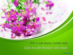 Free Springtime PPT Template