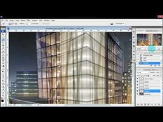 Architecture Illustrations: Frosted Glass via Photoshop