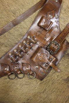 Healers/Alchemist Kit Belt, LARP Inn- For LARP, theatre and film- LARP Inn