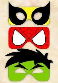 """Résultat de recherche d'images pour """"masque super héros"""""""