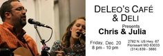 DeLeo's Cafe & Deli of Missouri is the place to get the WOW present this holiday season. Your very own piece of OSF art!