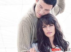 """When asked during their Teen Vogue cover shoot if Lea's boyfriend at the time, Theo Stockman, was jealous of Michele kissing Monteith on the show, she responds: """"My boyfriend is an actor as well. So he understands."""" 