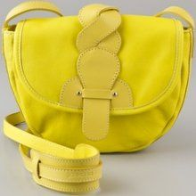 I don't usually like yellow but I really love this See by Chloe Twirl Crossbody Bag