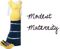 """""""Modest Maternity 3"""" by trinity-holiness-girl on Polyvore"""