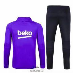 survetement equipe de foot Barcelone Bleu 2015 2016