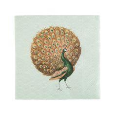 Servietter Påfugl | Kremmerhuset #Kremmerhuset #Interior #Inspiration