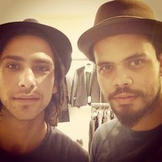 *STOP! STOP! STOP!...you lads are being too wretchedly cute BLEH! stop it!!* Luke Pasqualino and Howard Charles soooo cute :)