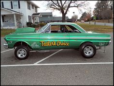 1965 Ford Falcon Hardtop drag-car, 389ci FuelInjected PMD V8/400 Auto/Olds Locker Axle