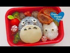 (*´ー`*) Happy Totoro Bento トトロのお弁当 (My Neighbor Totoro となりのトトロ) - YouTube