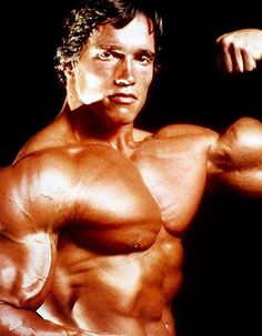 Arnold Schwarzenegger and body builders through the ages: http://j.mp/W8LQLp
