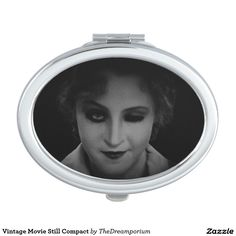Vintage Movie Still Compact Mirror For Makeup