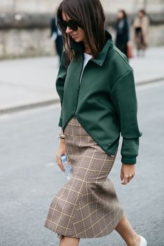 Fall street outfit