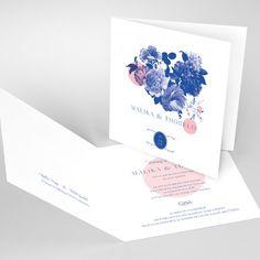 "<p>Ce faire-part fait partie de la collection <a href=""/collection/collection-papeterie-mariage-nabefabric"">Papeterie mariage Nabefabric</a>.</p> Motif Floral, Place Cards, Place Card Holders, Invitations, Frame, Wedding, Design, Collection, Elegant Wedding"