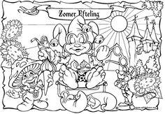 Kleurplaten Efteling Elfjes.50 Beste Afbeeldingen Van Kleurplaten Efteling Coloring Books