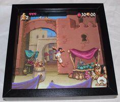 Aladdin 3D Paper Diorama