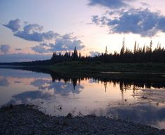 The Lower Missinaibi River with Missinaibi Headwaters Outfitters Ontario Provincial Parks, Ontario Parks, Sailing, Fishing, Places To Visit, Canada, River, Sunset, Board