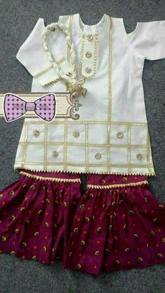 Wedding Dresses For Kids, Stylish Dresses For Girls, Frocks For Girls, Dresses Kids Girl, Simple Dresses, Cute Dresses, Kids Outfits, Baby Dresses, Baby Girl Dress Design