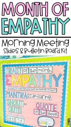 Looking to incorporate character education but don't have time in your busy schedule? The Morning Meaning Empathy unit is the perfect low-maintenance resource to help you integrate character education into your morning meetings! - Education and lifestyle Elementary Counseling, School Counselor, Elementary Schools, Career Counseling, Classroom Organization, Classroom Management, Classroom Decor, Learning Activities, Teaching Resources