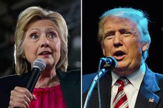 Poll Shows Tight Race for Donald Trump and Hillary Clinton