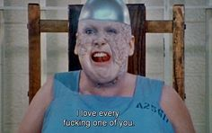 """""""I love every fucking one of you."""" - Divine as Dawn Davenport. John Waters' Female Trouble, 1974"""