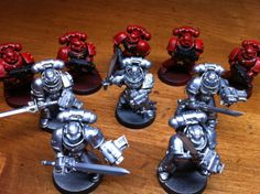 Lesson's I've learned as I've progressed in the miniatures hobby. Grey Knights, Model Kits, Miniatures, Painting, Painting Art, Paintings, Mockup, Minis, Drawings