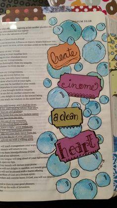 Psalm 51:7-12 - Create in me a clean heart