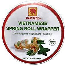 Easy Spring Roll Wrappers (Egg Roll Wrappers) | China Sichuan Food Easy Spring Rolls, Chinese Spring Rolls, Vietnamese Spring Rolls, Gourmet Food Store, Gourmet Recipes, Asian Recipes, Spring Roll Wrappers, Egg Roll Wrappers, Air Fryer Dinner Recipes